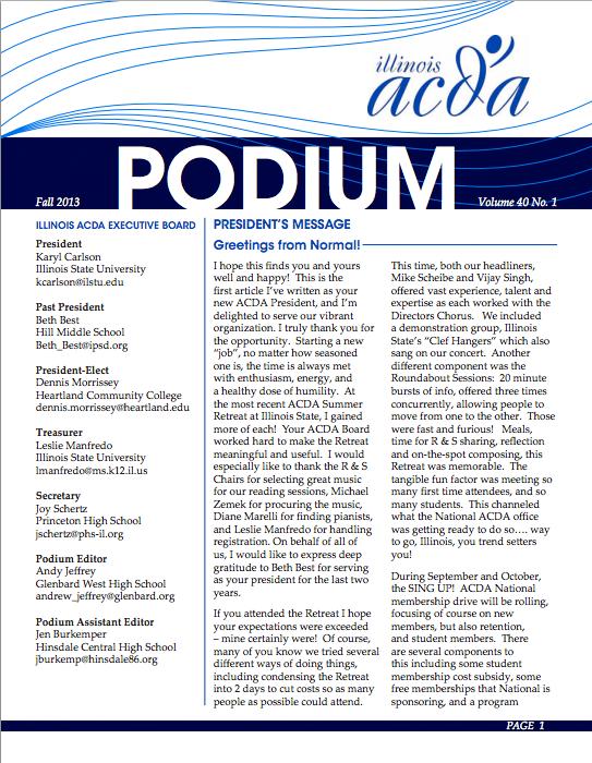 Podium_f2013_Cover